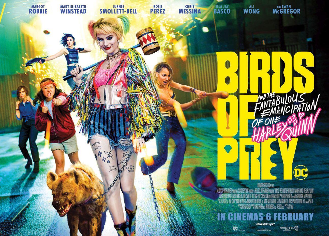 birds of prey harley quinn margot robbie
