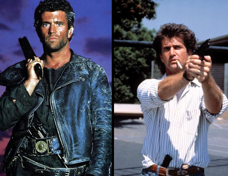 iconic roles mel gibson
