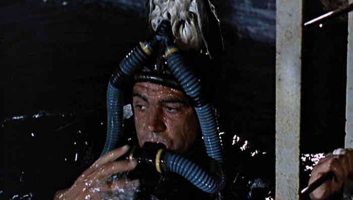 funniest disguises James Bond wetsuit bird goldfinger