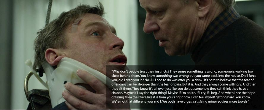 The Girl with the Dragon Tattoo Stellan skarsgard quote