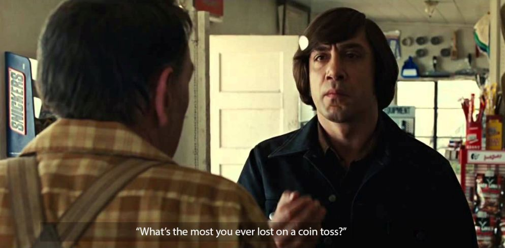 no country for old men javier bardem quote