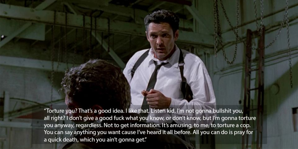reservoir dogs michael madsen quote