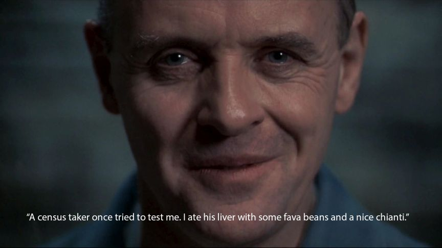 silence of the lambs anthony hopkins quote