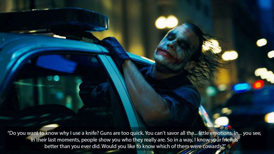 the dark knight joker quote