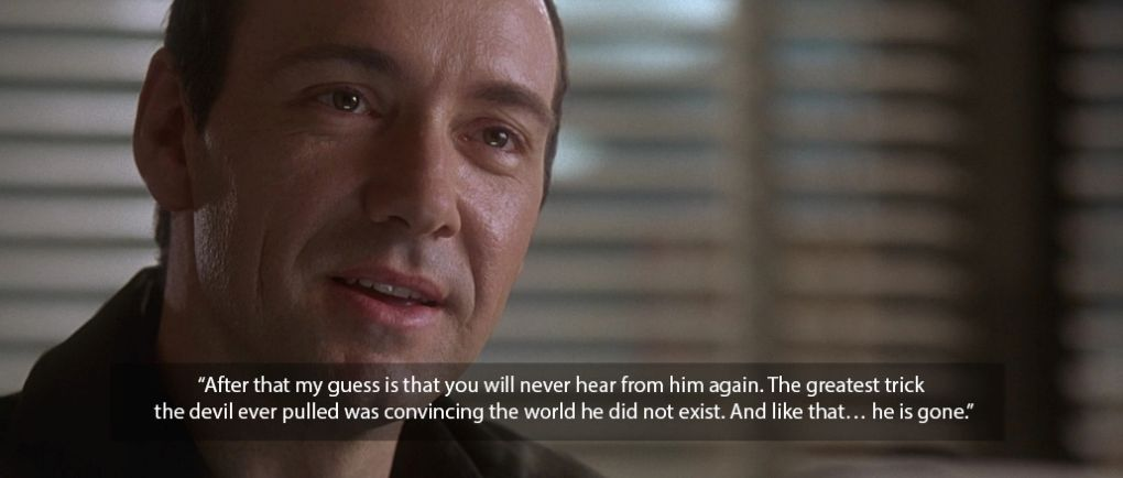 usual suspects kevin spacey quote