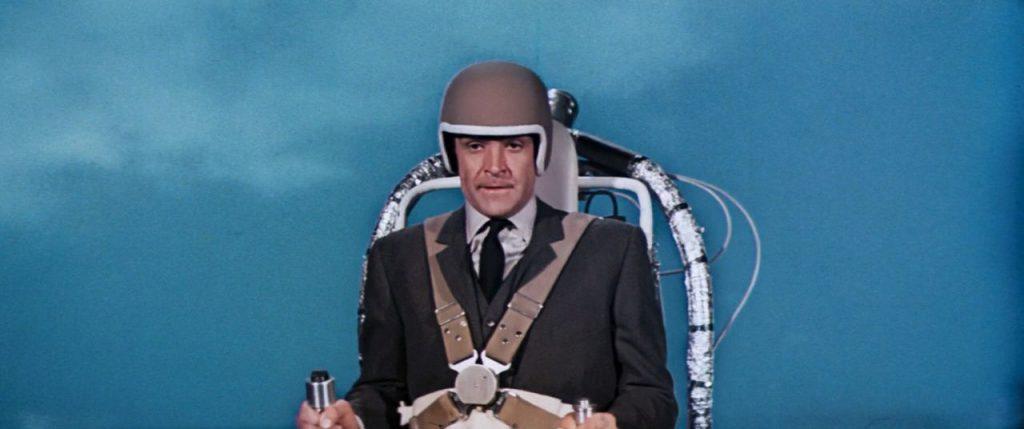 Thunderball Review James Bond jetpack